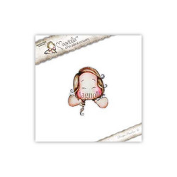 Magnolia Wihoo Emoji Tilda  -leimasin