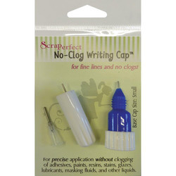 ScraPerfect No-Clog Writing Cap -korkki, koko small (pieni)