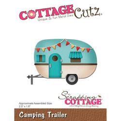 CottageCutz stanssisetti Camping Trailer, matkailuvaunu