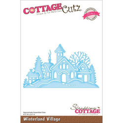 CottageCutz Winterland Village -stanssi