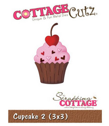 CottageCutz Cupcake 2 -stanssi