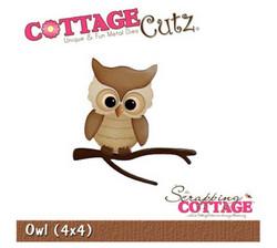 CottageCutz Owl -stanssisetti