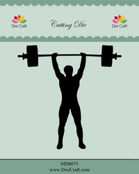 Dixi Craft stanssi Weightlifting / Fitness, painonnosto