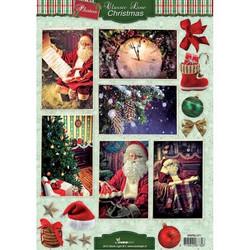 Studio Light Classic Line Christmas -korttikuvat