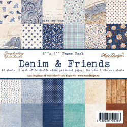 Maja Design Denim & Friends -paperipakkaus