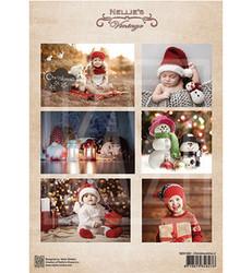 Nellie's Vintage korttikuvat Christmastime 2