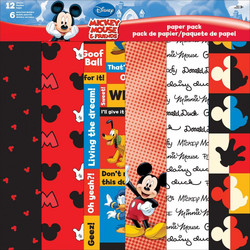 Disney Mickey & Friends -paperipakkaus, 12