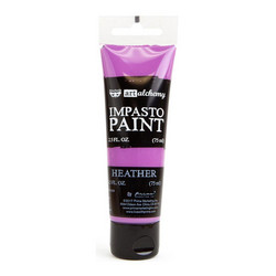 Finnabair Art Alchemy Impasto Paint, sävy Heather