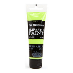 Finnabair Art Alchemy Impasto Paint, sävy Green Apple