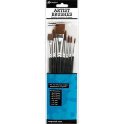 Ranger Artist Brushes -sivellinsetti, 7 kpl