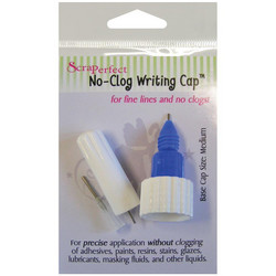 ScraPerfect No-Clog Writing Cap -korkki, koko medium
