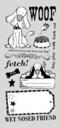 PaperArtsy DOG DL -leimasinsetti