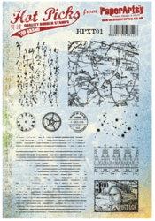 PaperArtsy leimasinsetti Hot Pick Xtra 01 Backgrounds