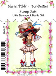 My-Besties leimasin Little Steampunk Girl