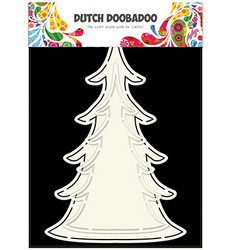 Dutch Doobadoo Card Art Xmas Tree -sapluuna