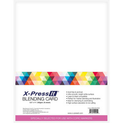 X-Press Blending -kartonki, 250 g, 25 arkkia