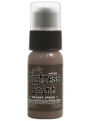 Distress Paint, sävy Walnut Stain