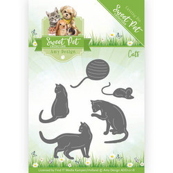 Amy Design Sweet Pet stanssisetti Cats