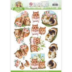 Amy Design Sweet Pet 3D-kuvat, Rodents. Valmiiksi leikatut
