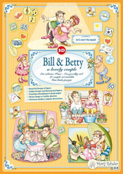 Marij Rahder Bill & Betty 3D -kirja