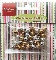 Marianne Design kulkuset, kulta ja hopea