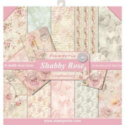 Stamperia paperipakkaus Shabby Rose, 12