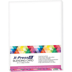 X-Press Blending -kartonki, 250 g, 125 arkkia