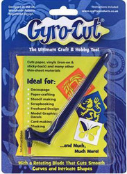 Gyro-cut paperiveitsi