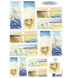 Marianne Designin Tiny's beach -korttikuvat
