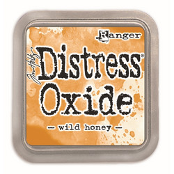 Distress Oxide -mustetyyny, sävy wild honey