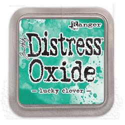 Distress Oxide -mustetyyny, sävy lucky clover