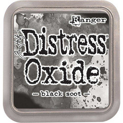 Distress Oxide -mustetyyny, sävy black soot