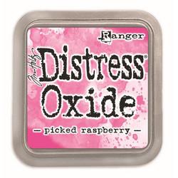 Distress Oxide -mustetyyny, sävy picked raspberry