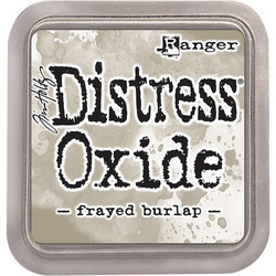 Distress Oxide -mustetyyny, sävy frayed burlap