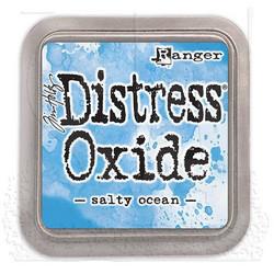 Distress Oxide -mustetyyny, sävy salty ocean
