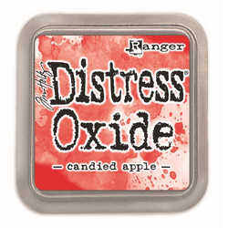 Distress Oxide -mustetyyny, sävy candied apple