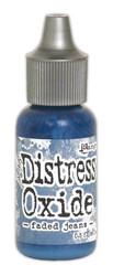 Distress Oxide täyttöpullo, sävy faded jeans
