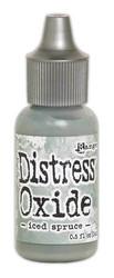 Distress Oxide täyttöpullo, sävy iced spruce
