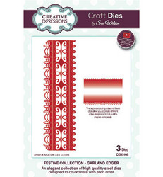 Creative Expressions The Festive Collection stanssisetti Garland Edger