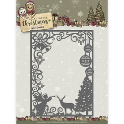 Yvonne Creations Celebrating Christmas stanssi Scene Rectangle Frame