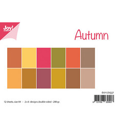 Joy! Crafts paperipakkaus A4 Autumn