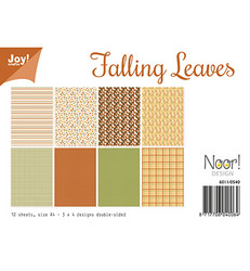 Joy! Crafts paperipakkaus A4 Falling Leaves
