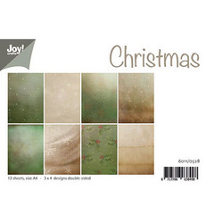 Joy! Crafts paperipakkaus A4 Christmas