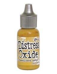Distress Oxide täyttöpullo, sävy fossilized amber