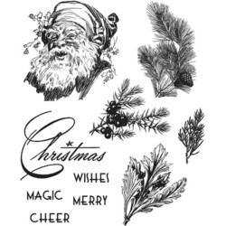 Stampers Anonymous, Tim Holtz leimasinsetti Christmas Classic