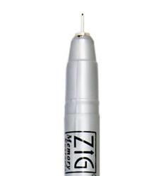 Zig Millenium Fine Liner -kynä. Musta, 0.2 mm