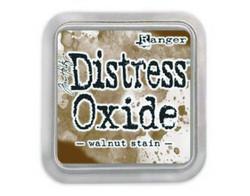 Distress Oxide -mustetyyny, sävy walnut stain