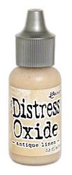 Distress Oxide täyttöpullo, sävy antique linen