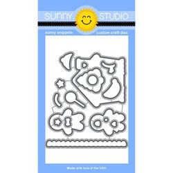 Sunny Studio Stamps stanssisetti Jolly Gingerbread