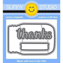 Sunny Studio Stamps stanssisetti Vintage Jar